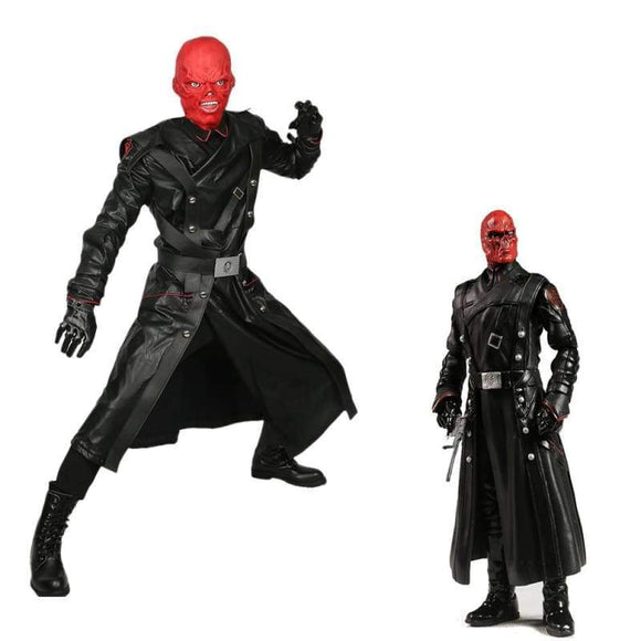 Red Skull Cosplay Costume From Captain America - Costumes 1