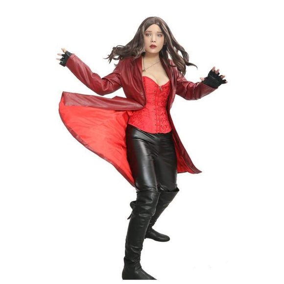 Scarlet Witch Costume From Captain America: Civil War - Costumes 5