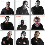 Xcoser Slipknot Mask Latex Halloween Cosplay Costume Accessory For Adults