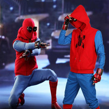 2017 Spiderman Homecoming Homemade Suit Cosplay Costume (Fast Shipping Immediately) - Xcoser Costume