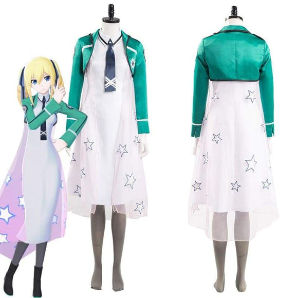 The Irregular at Magic High School Angelina Kudou Shields Women Dress Outfits Halloween Carnival Suit Cosplay Costume - Costumes 1