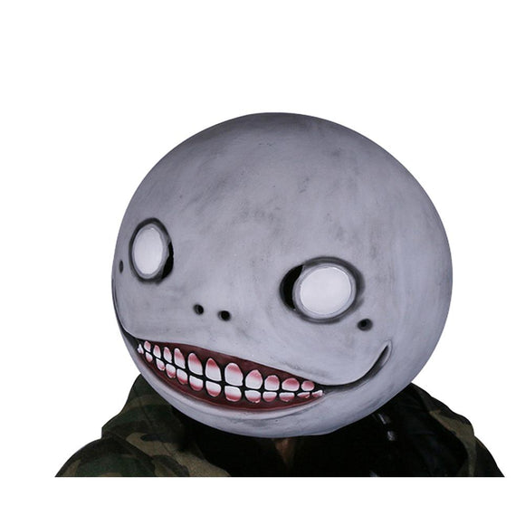 NieR: Automata Emil Mask Gray Latex Mask Head Hood Mask for Halloween Cosplay
