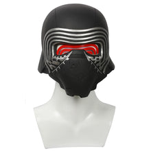 Kylo Ren Mask Star Wars 7 The Force Awakens Cosplay PVC Full Head Painted Helmet With LED