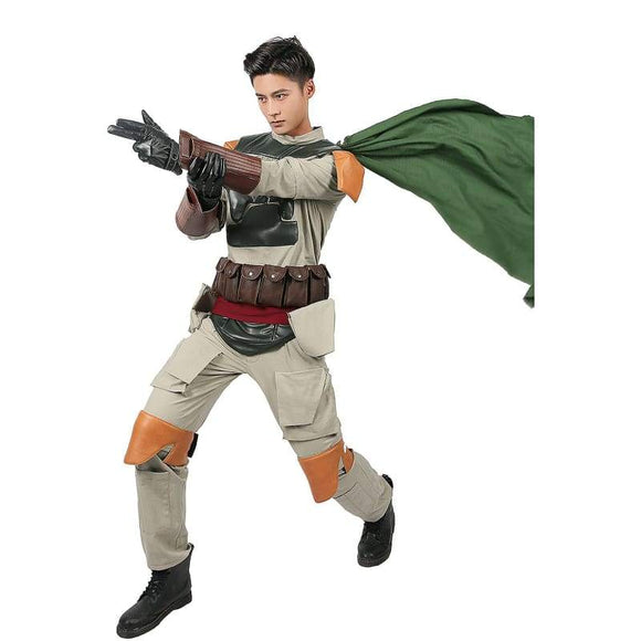 Xcoser Boba Fett Costume Original Design Star Wars Cosplay Costumes - 4
