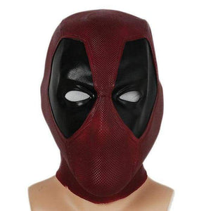 Xcoser Cosplay Deadpool Movie Vesion Latex Full Head Wade Mask Helmet - 1