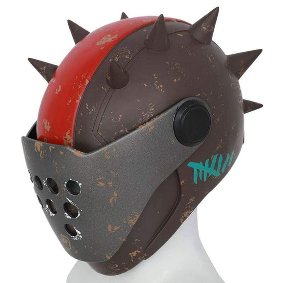Xcoser Fortnite Game Cosplay Rust Lord Helmet Halloween Mask - 3