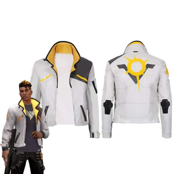 Xcoser Game Valorant-phoenix Men Jacket Coat only Cosplay Costume - Costumes 1