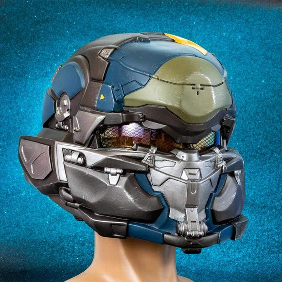 Xcoser Halo 5: Guardians Spartan Resin Cosplay Helmet - 1