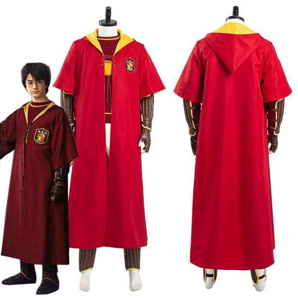 Xcoser Harry Potter Gryffindor Quidditch Uniform Halloween Carnival Outfit Cosplay Costume - Female / Xs - Costumes 1