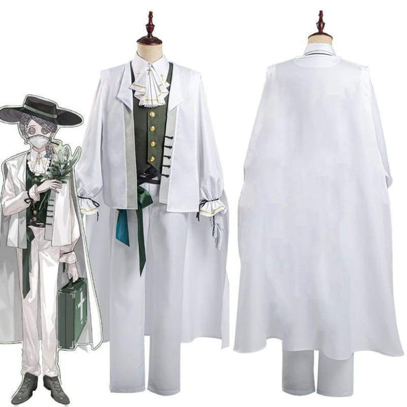 Xcoser Identity V Embalmer Aesop Carl Shirt Pants Suit Halloween Carnival Outfit Cosplay Costume - Female / Xs - Costumes 1