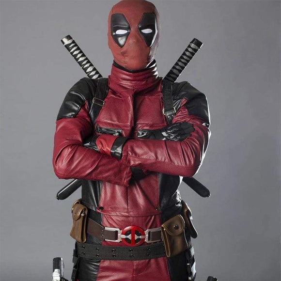 Xcoser New Movie Version Deadpool Wade Wilson Costume - Costumes 2