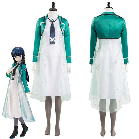 Xcoser the Irregular at Magic High School Shiba Miyuki Women Dress Outfits Halloween Carnival Suit Cosplay Costume - Female / Xs - Costumes