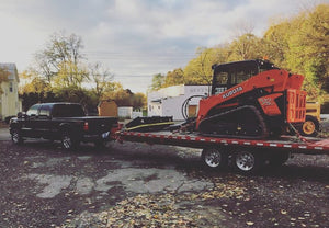 Heavy Equipment Towing With BulletProof Hitches