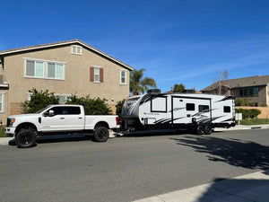 Travel Trailer Towing Safety