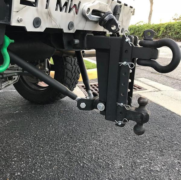 BulletProof Hitches Frame-Mounted Stabilizer Bars