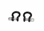 "BulletProof 5/8"" Channel Shackles for Safety Chains (Pair)"