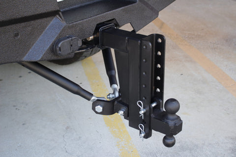 Frame-Mounted Hitch Stabilizer Bars - BulletProof Hitches