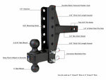 "2.0"" Medium Duty 4"" & 6"" Offset Hitch"