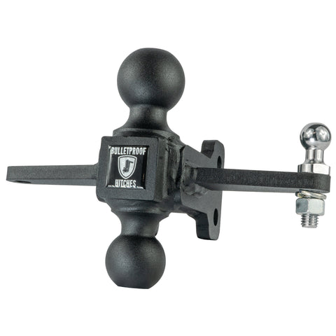 BulletProof Medium Duty Sway Control Ball Mount