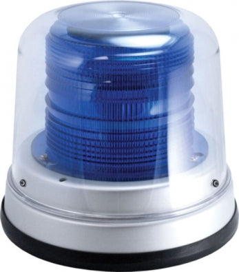 High Profile Fleet LED Beacon Permanent Mount ( Blue )