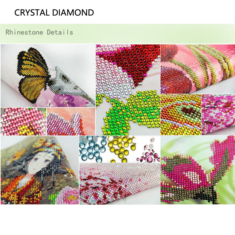 Crystal Diamond Painting Tiger
