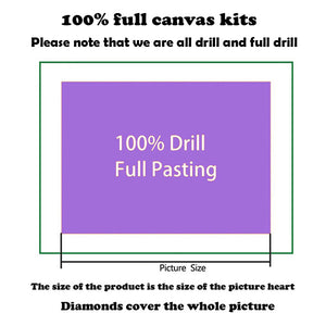 Full Round Drill 5D DIY Diamond Painting