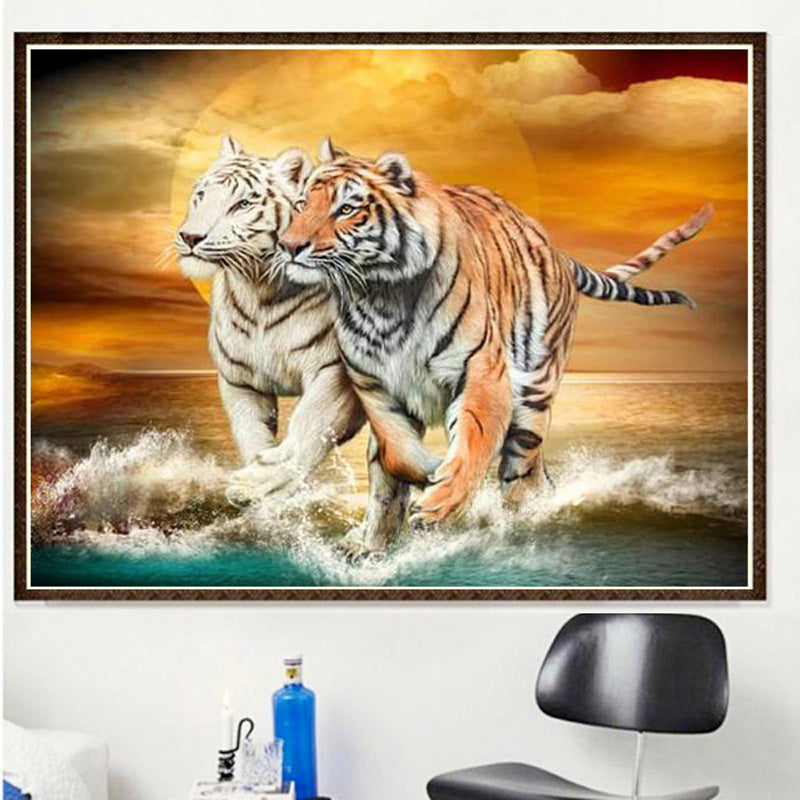 Diy Diamond Painting Kits Tiger