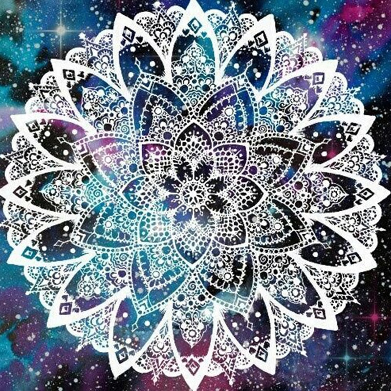 5D Diy Diamond Painting Mandala