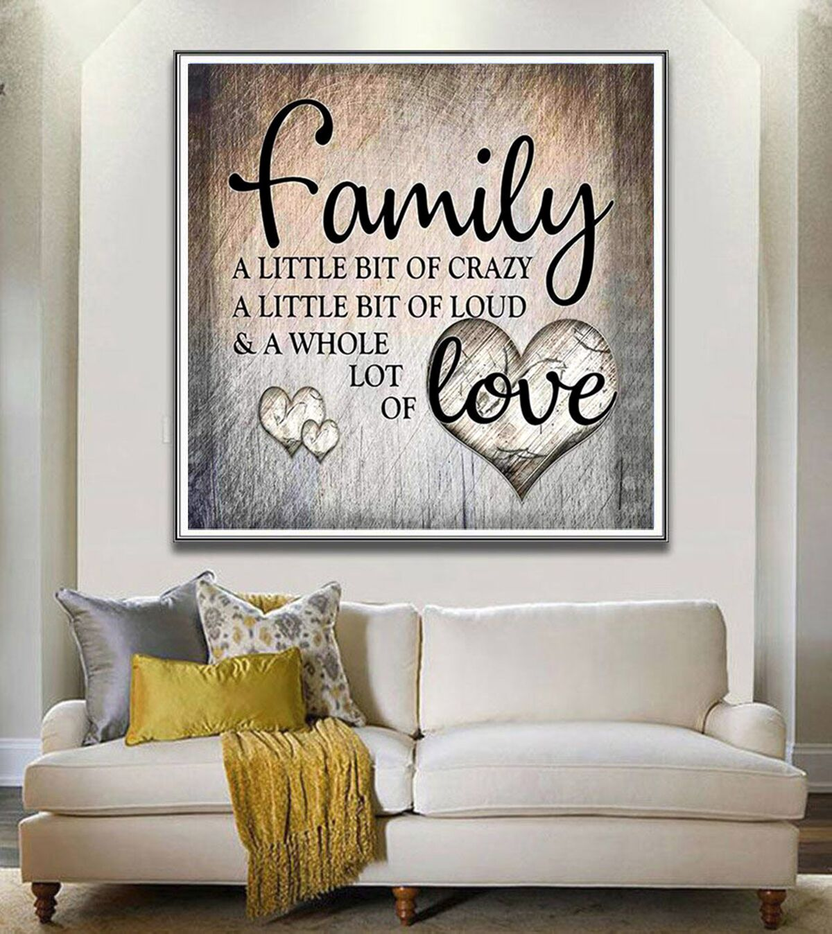 DIY Diamond Painting Family Love Letter