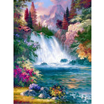 5D Diamond Painting Waterfall