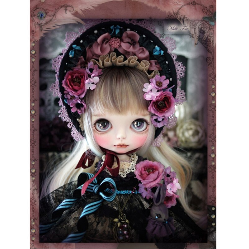 5D Diamond Painting Cartoon Loli Girl
