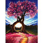 DIY Diamond Painting Love Tree