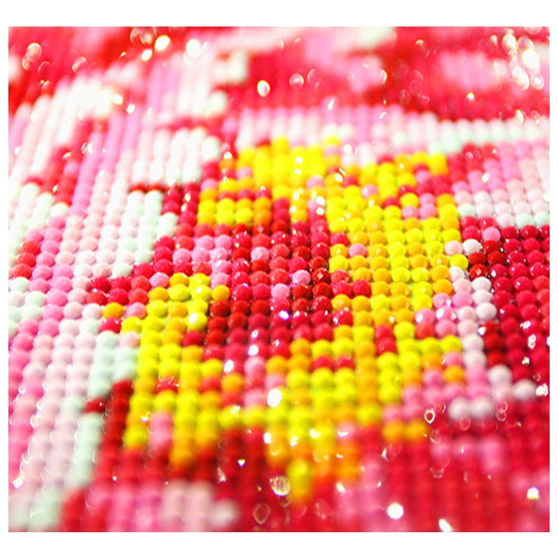 5D DIY Diamond Embroidery love Scenery Kiss