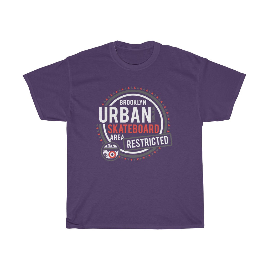 Urban Skate Board Unisex Heavy Cotton Tee - Tshirtsbros