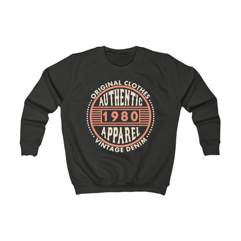 1980 Kids Kids Sweatshirt