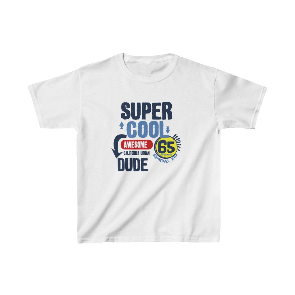 Super Cool Dude Kids Heavy Cotton