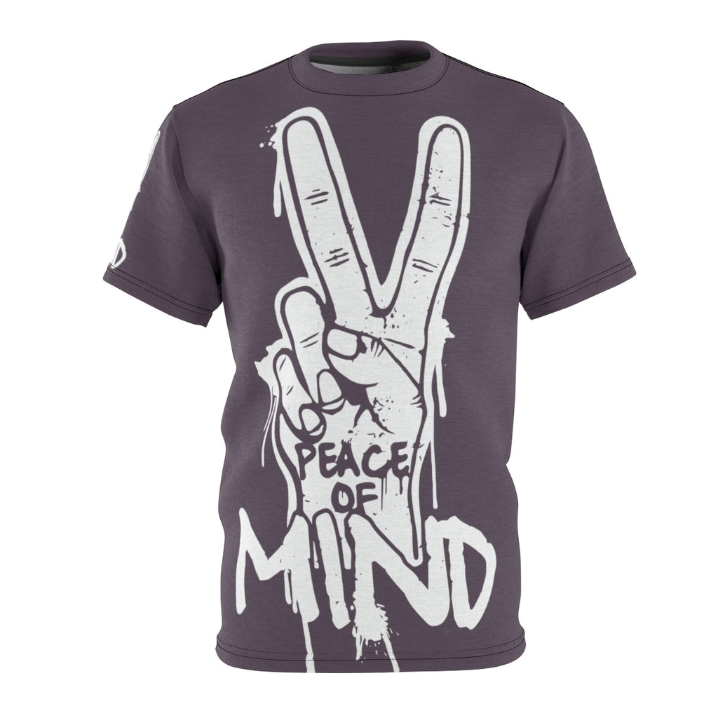 Peace Of Mind Unisex AOP Cut & Sew Tee - Tshirtsbros