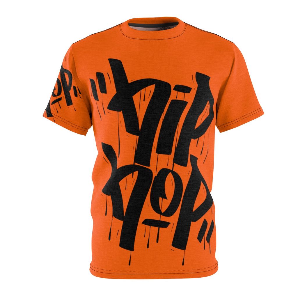 Hiphop Orange Sew Tee