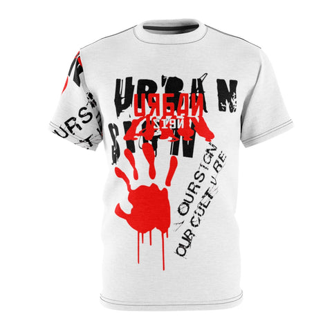 Urban Sign Unisex AOP Cut & Sew Tee