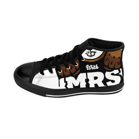 Dont Mess With Mrs Women's High-top Sneakers