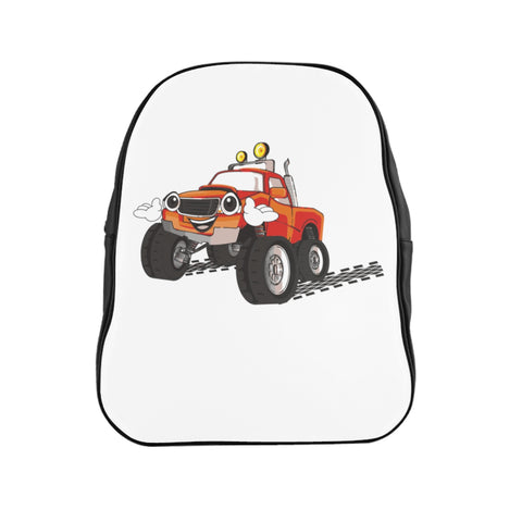 Kids Truck School Backpack