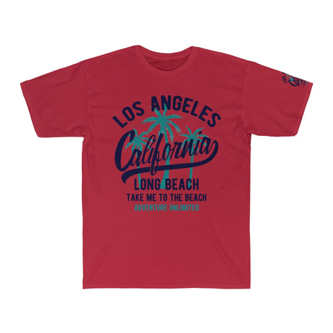 LA Take Me To The Beach  Surf Tee