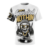 Aint Worry About Nothing Unisex AOP Cut & Sew Tee