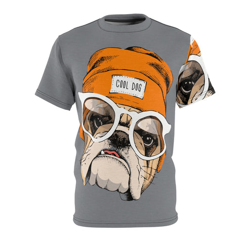Cool Dog Unisex AOP Cut & Sew Tee