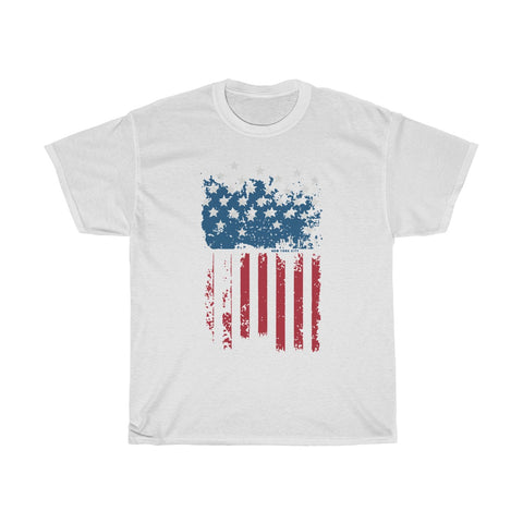 American Flag Unisex Heavy Cotton Tee