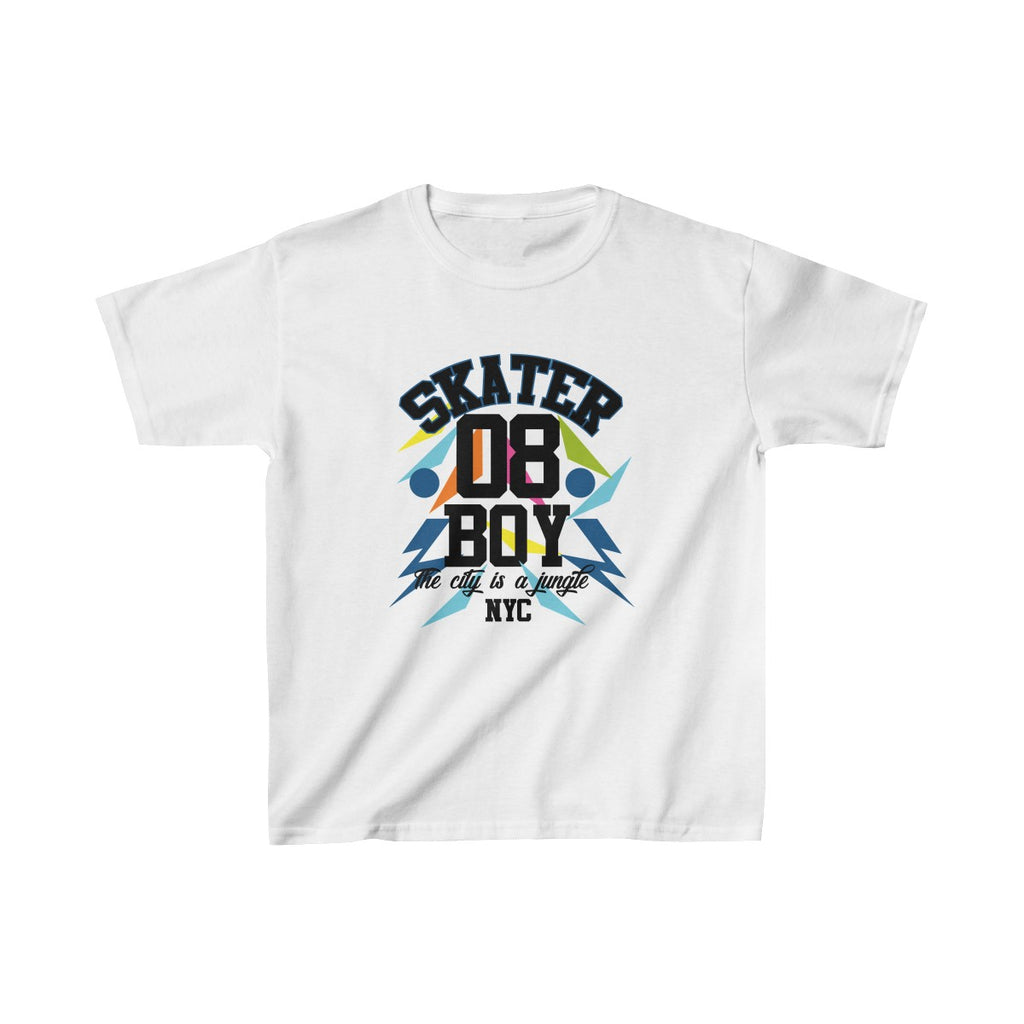 Skate Boy Kids Heavy Cotton™ Tee - Tshirtsbros