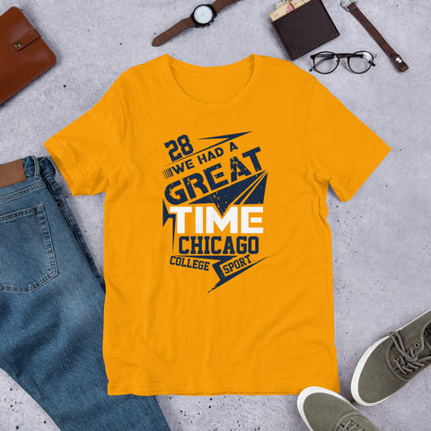 28 And Great Short-Sleeve Unisex T-Shirt