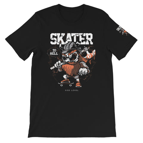 Skater God Level Short-Sleeve Unisex T-Shirt