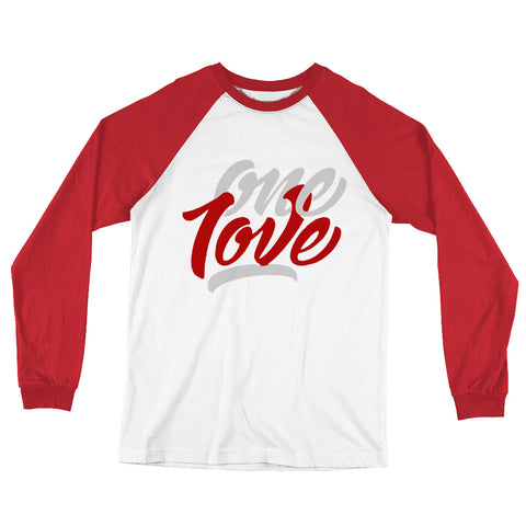 One Love Long Sleeve Baseball T-Shirt