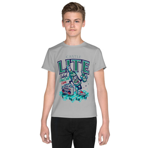 Castle Lite large print  Youth T-Shirt - Tshirtsbros